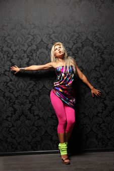 Free The Dancer Royalty Free Stock Images - 9330289