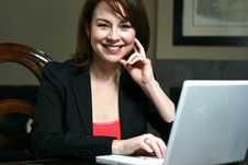 Free Smiling Business Woman Stock Photos - 9330543