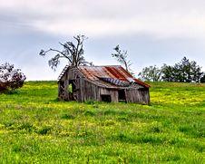 Free Small Old Barn Stock Photo - 9330860