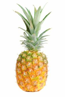 Pineapple Fruit. Royalty Free Stock Photography