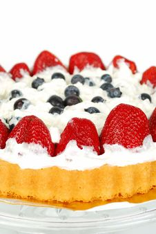 Berry Cake. Royalty Free Stock Image