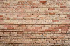 Free Old Brick Wall Background Stock Photo - 9331190