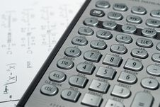Free Advanced Financial Calculator Stock Image - 9331981