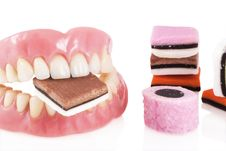 Free Result Of Too Much Candy. Royalty Free Stock Images - 9332799