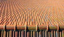 Free Tile Roof Pattern Stock Photos - 9333113