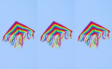 Free Three Kites Royalty Free Stock Images - 9333219