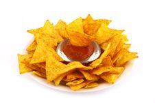 Free Salsa Dip Royalty Free Stock Photography - 9333377