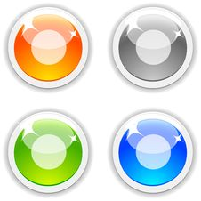 Rec Buttons. Royalty Free Stock Images