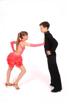 Free Boy And Girl Dancing Ballroom Dance Royalty Free Stock Photos - 9333578