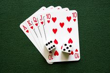 Free Royal Flush Stock Images - 9334594
