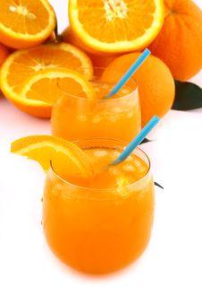 Free Orange Juice Royalty Free Stock Photos - 9335018