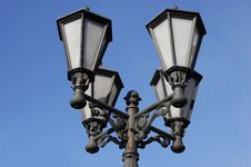 Free Street Lamp Royalty Free Stock Photography - 9335157