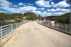 Free Road On Dam Stock Photos - 9335533