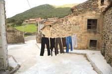 Free Rural Drying Place Stock Photo - 9335640