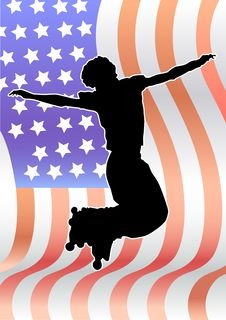 Free American Extreme Royalty Free Stock Photography - 9337097