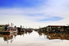 Free Sekinchan Fishing Village Royalty Free Stock Photo - 9338325