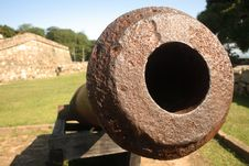 Free War Fort Cannon Royalty Free Stock Images - 9338649