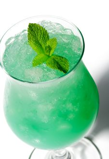 Free Green Cocktail Stock Image - 9338821