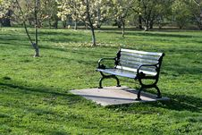 Free Park Bench Stock Photos - 9338823