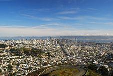 Free San Francisco View Stock Photo - 9339360