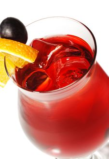 Free Red Cocktail Royalty Free Stock Photos - 9339528