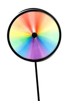 Free Colourful Pinwheel Royalty Free Stock Image - 9339916