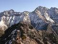 Free Mountain Tops Royalty Free Stock Photos - 9344868