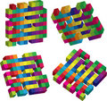 Free Cubes Royalty Free Stock Photos - 9348248