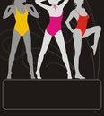 Free Active Girls 3 Royalty Free Stock Photos - 9349738
