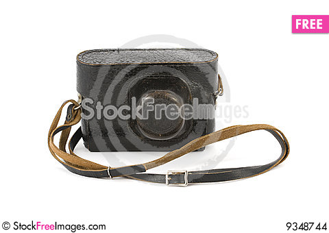 Free Vintage Camera In Carry-Case Stock Images - 9348744