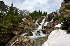 Free Creek In Mountains Stock Image - 9340061