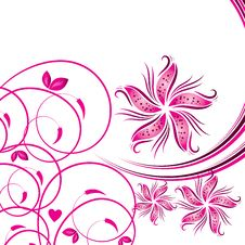 Free Flower Background Royalty Free Stock Images - 9340109