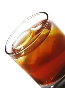 Free Whiskey Cocktail Royalty Free Stock Images - 9340499