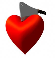 Free Heart Chop Stock Image - 9340701
