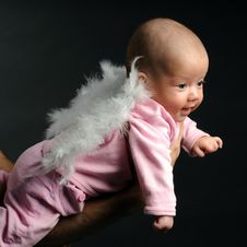 Free Little Baby Royalty Free Stock Photo - 9340875