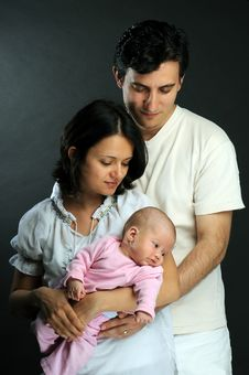 Free Happy Family Royalty Free Stock Photography - 9340937