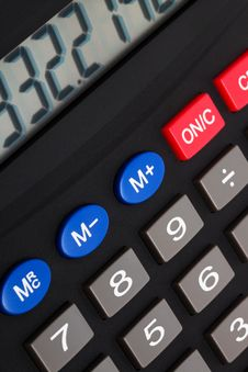 Free Modern Calculator Royalty Free Stock Images - 9341039