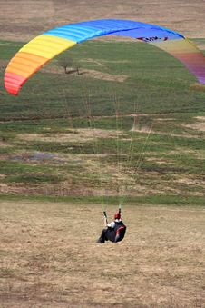 Paraglide Royalty Free Stock Photography