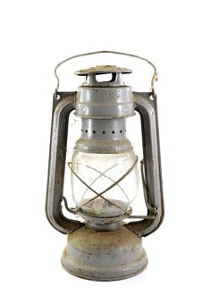 Free Old Dusty Petroleum Lamp Royalty Free Stock Images - 9342459