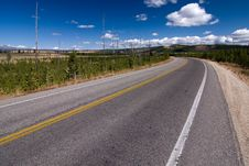Free Empty Highway Royalty Free Stock Images - 9342519