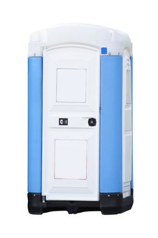 Free A Plastic Outhouse Royalty Free Stock Photos - 9342768