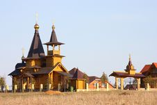 Christian Orthodox Temple Royalty Free Stock Photography