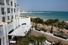 Free Sunny View From A Hotel Royalty Free Stock Image - 9343126