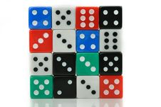Free Dices Royalty Free Stock Photography - 9343157