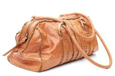 Free Leather Bag Stock Image - 9343821