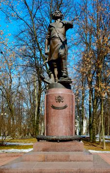 Free Monument To Peter The Great In Izmailovo Stock Photo - 9344090