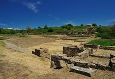 Free Archaeological Site Of Morgantina Stock Image - 9345411