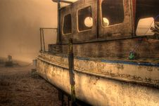 Free Abandoned Boat Royalty Free Stock Photo - 9345485