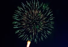 Free Fireworks In The Night Sky. Stock Photos - 9347673