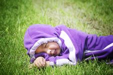 Boy Day Dreaming Stock Image
